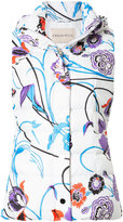 Emilio Pucci floral print puffer gilet