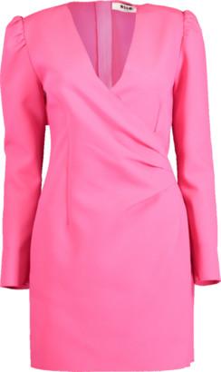MSGM Abito V-Neck Dress