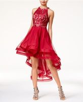 Speechless Juniors' High-Low Fit & Flare Dress