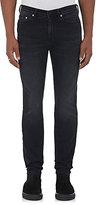 Neil Barrett Men's Cotton-Blend Skinny Jeans-BLACK