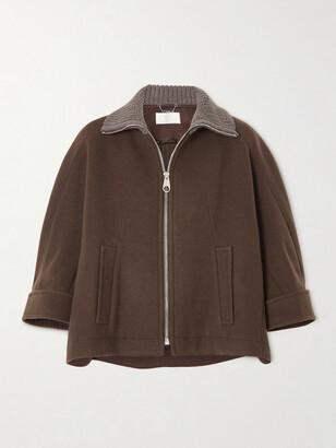 Chloe - Wool-blend Jacket - Brown