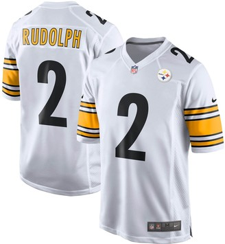 Nike Men's Mason Rudolph White Pittsburgh Steelers Game Jersey