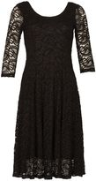 Izabel London Paisley Lace Skater Dress