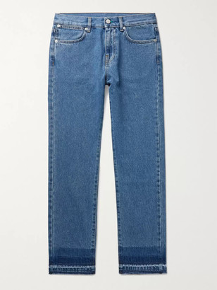 McQ Slim-Fit Denim Jeans - Men - Blue