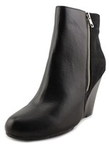 Report Russi Women Round Toe Synthetic Black Ankle Boot.