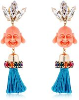 Anton Heunis Pandora's Box Happy Buddha Earrings