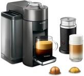 De'Longhi Nespresso Evoluo Coffee and Espresso Maker by with Aerocinno