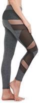 Electric Yoga Charcoal Mesh-Panel Leggings