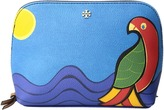 Tory Burch Kerrington Parrot Cosmetic Case Cosmetic Case