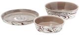 Global Views Large Richmond Serving Bowls (Set of 3)