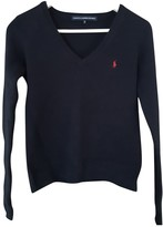 Ralph Lauren Navy Wool Knitwear