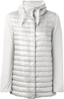 Herno padded front hooded jacket - women - Cotton/Feather Down/Polyamide/Acetate - 42