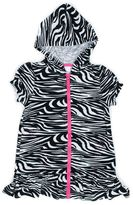 Pink Platinum Toddler Girl Terry Swimsuit Cover-Up