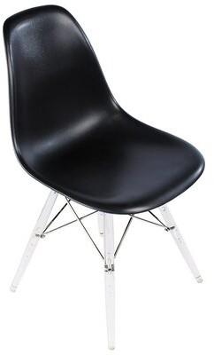 "Joseph Allen 18.5"" W Side Chair Fabric: Black"