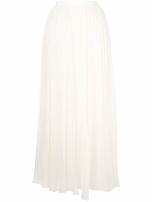 Giambattista Valli Long Ruffle Skirt