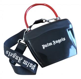 Palm Angels Black Plastic Clutch bags