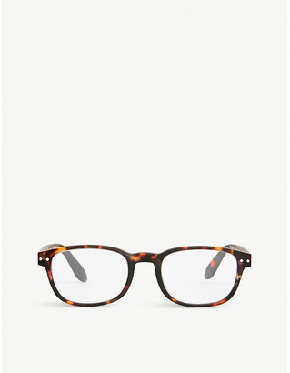 IZIPIZI #B tortoise reading glasses +1.00