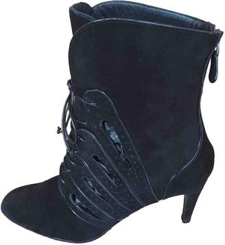 Bottega Veneta Black Suede Boots