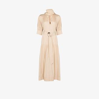 NACKIYÉ Opium V-neck dress
