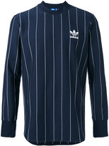 adidas Pinstripes longsleeve T-shirt - men - Cotton - L