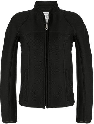 Chanel Pre Owned Sports Line stand-up mesh jacket