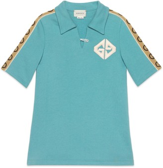 Gucci Children's cotton dress with Interlocking G