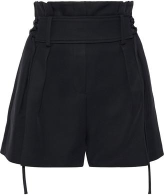 IRO Lace-up Cady Shorts