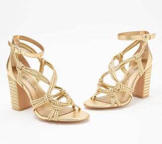 Katy Perry Roped Heeled Sandals - The Roped