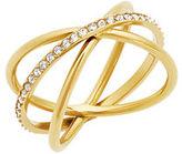 Michael Kors Orbital Pavé Crystal Ring