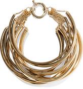 Rosantica Yucatan Gold-tone Choker - one size