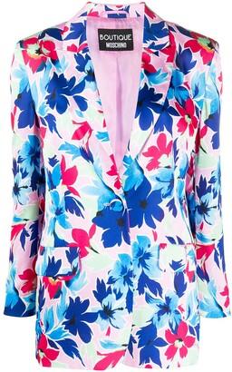 Boutique Moschino Floral-Print Blazer