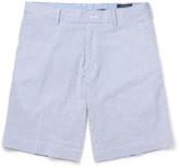 Polo Ralph Lauren Striped Stretch-cotton Seersucker Shorts
