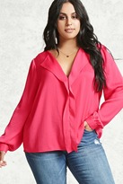 Forever 21 FOREVER 21+ Plus Size Satin Top