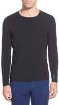 Naked Luxury Long Sleeve Stretch Sleep Top