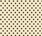 SheetWorld Fitted Sheet (Fits BabyBjorn Travel Crib Light) - Polka Dots Cream Woven - Made In USA - 24 inches x 42 inches (61 cm x 106.7 cm)