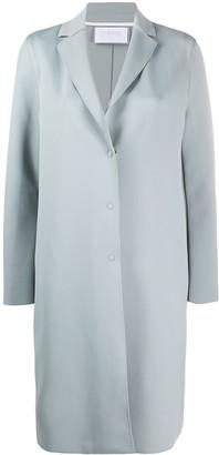 Harris Wharf London Plain Single Breasted Coat