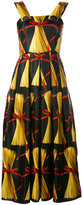 Dolce & Gabbana pasta print dress - women - Silk - 40