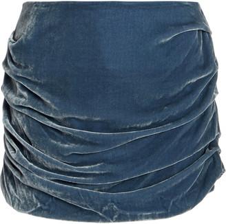 Georgia Alice Velvet Mini Skirt