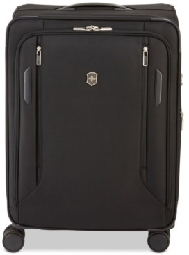 "Victorinox Vx Avenue 25"" Medium Expandable Softside Spinner Suitcase"