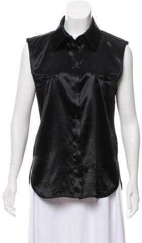 Chanel Paris-Dallas Button-Up Top