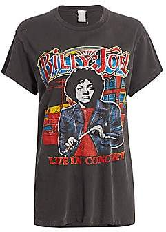 MadeWorn Women's Billy Joel Live In Concert Graphic T-Shirt