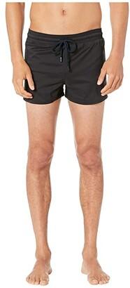 Vilebrequin Man Unis Stretch Swim Trunks (Aqua) Men's Swimwear