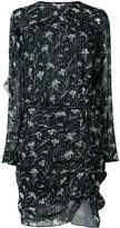 Veronica Beard floral print mini dress