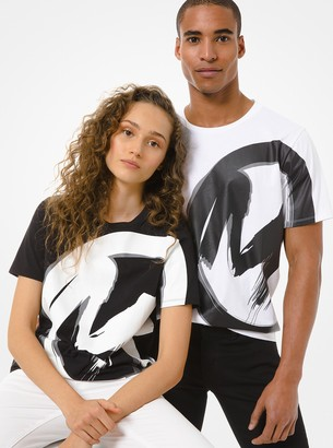 MICHAEL Michael Kors Logo Cotton Jersey Unisex T-Shirt