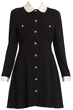 Miu Miu Women's Peter Pan Collar A-Line Dress