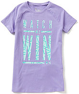 Under Armour Big Girls 7-16 Watch Me Win Short-Sleeve Tee