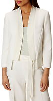 Karen Millen Fluid Tailoring Jacket, Ivory