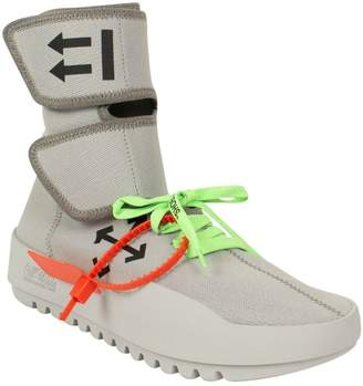Off-White Off White CST-001 Moto Wrap Grey Cloth Trainers