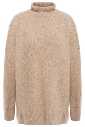 Vince Melange Cashmere Turtleneck Sweater