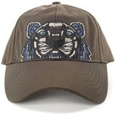 Kenzo Tiger Embroidered Cotton Baseball Hat